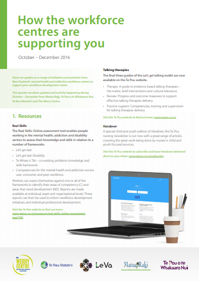 How the workforce centres are supporting you